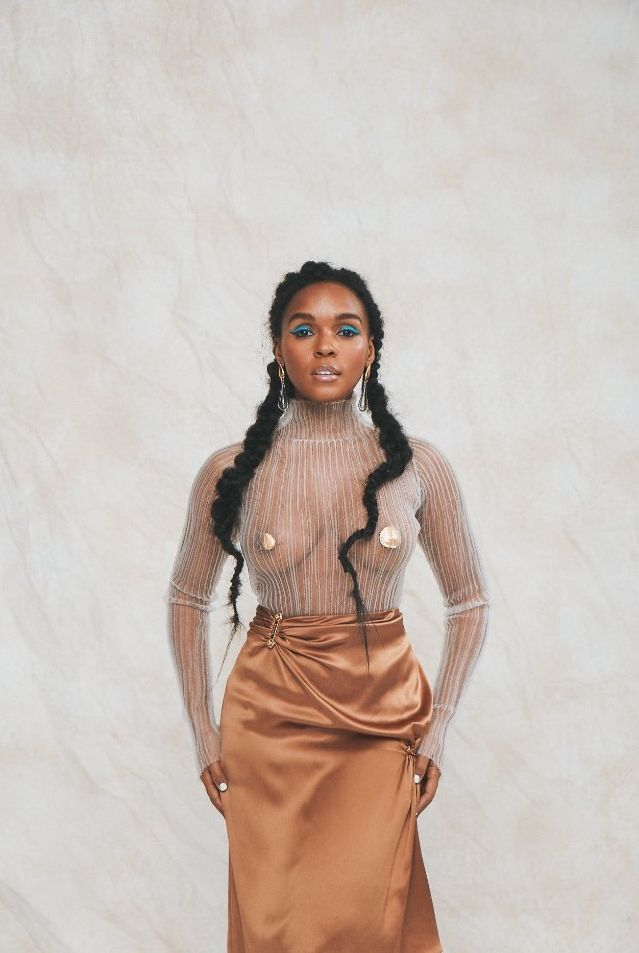 Janelle Monáe See Through Nude