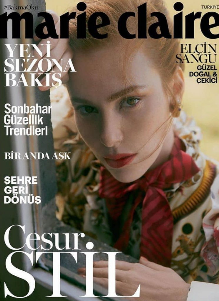 Elçin Sangu for Marie Claire Turkey September 2019